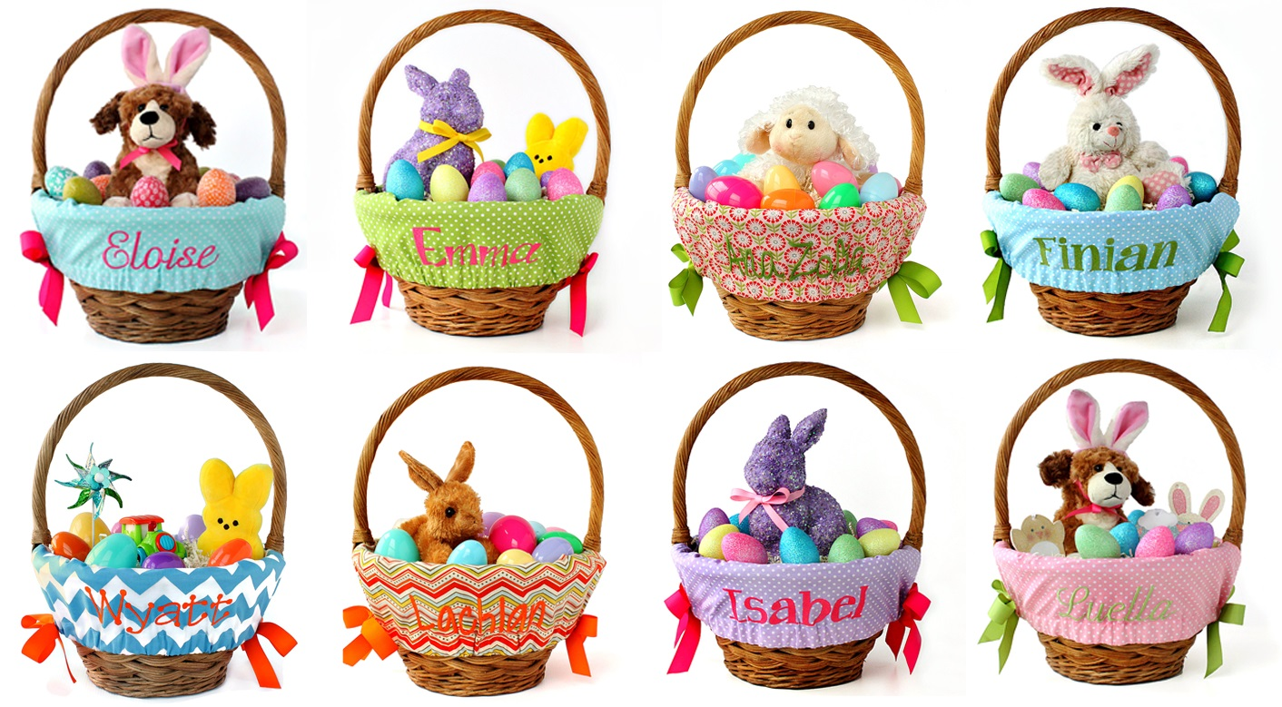 Personalized Easter Baskets & Gifts
